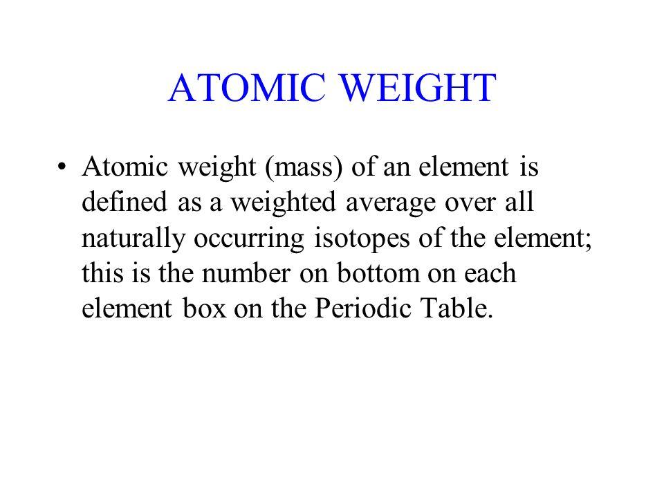 Stoichiometry the mole atomic and molecular masses chemical formula 3 atomic urtaz Choice Image