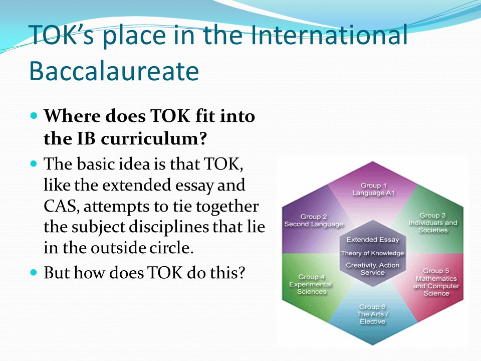international baccalaureate tok essay format This is a tok essay for the final year of the international baccalaureate the tok guide with all the requirements will be uploaded later on the format of the essay needs to fulfill the ibo requirements (which will be uploaded.
