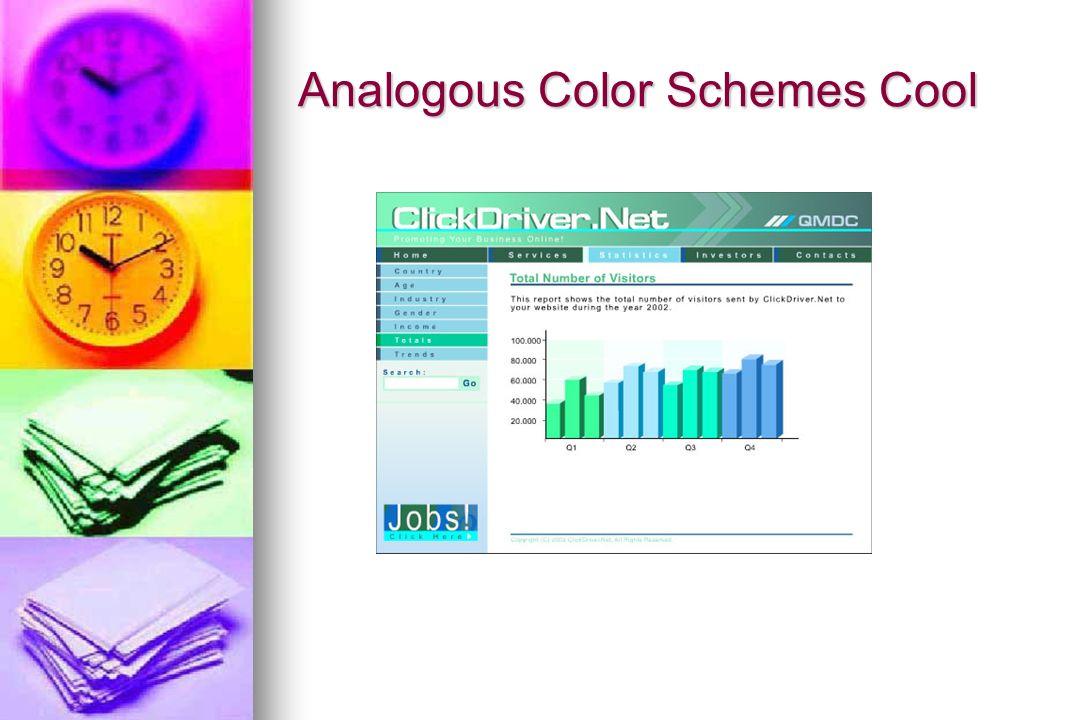 21 Analogous Color Schemes Warm