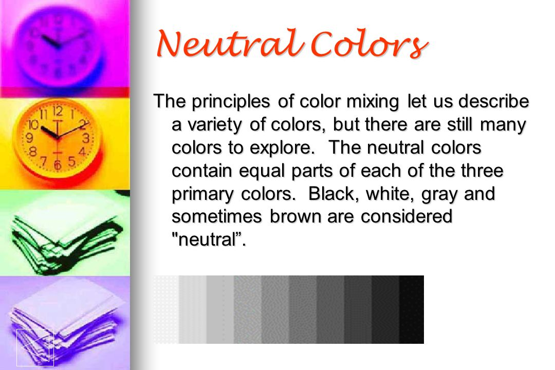Color Theory Wheel Values
