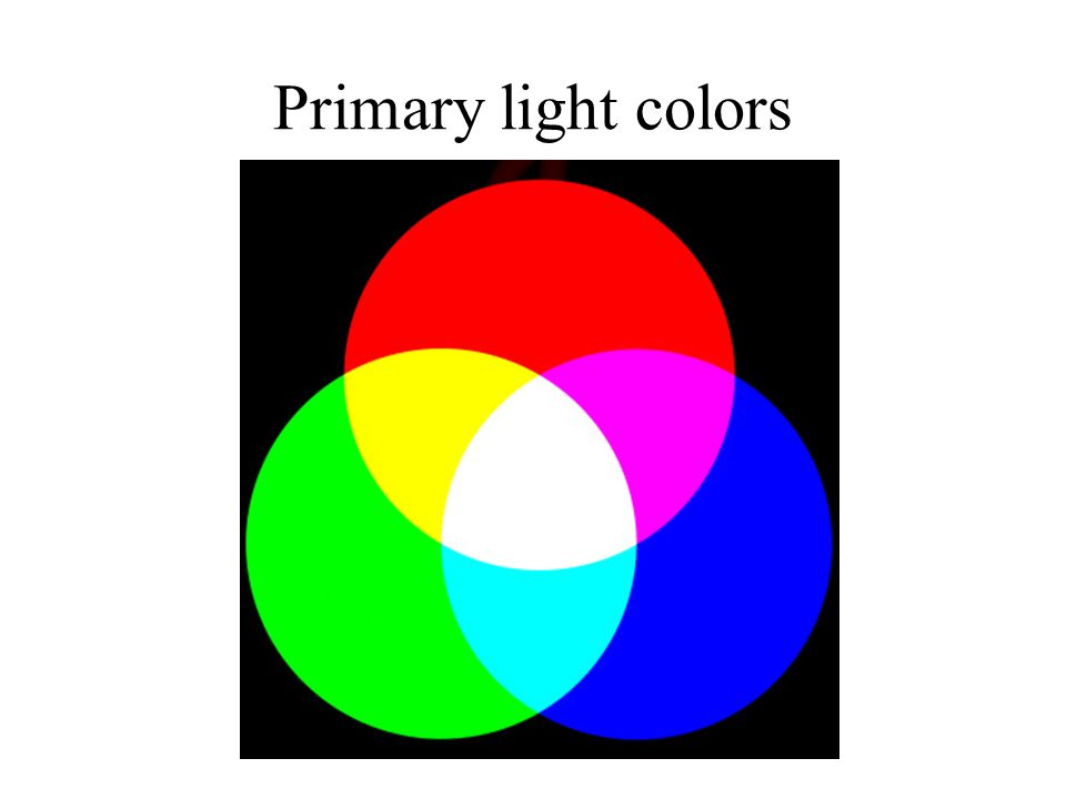 Primary light colors