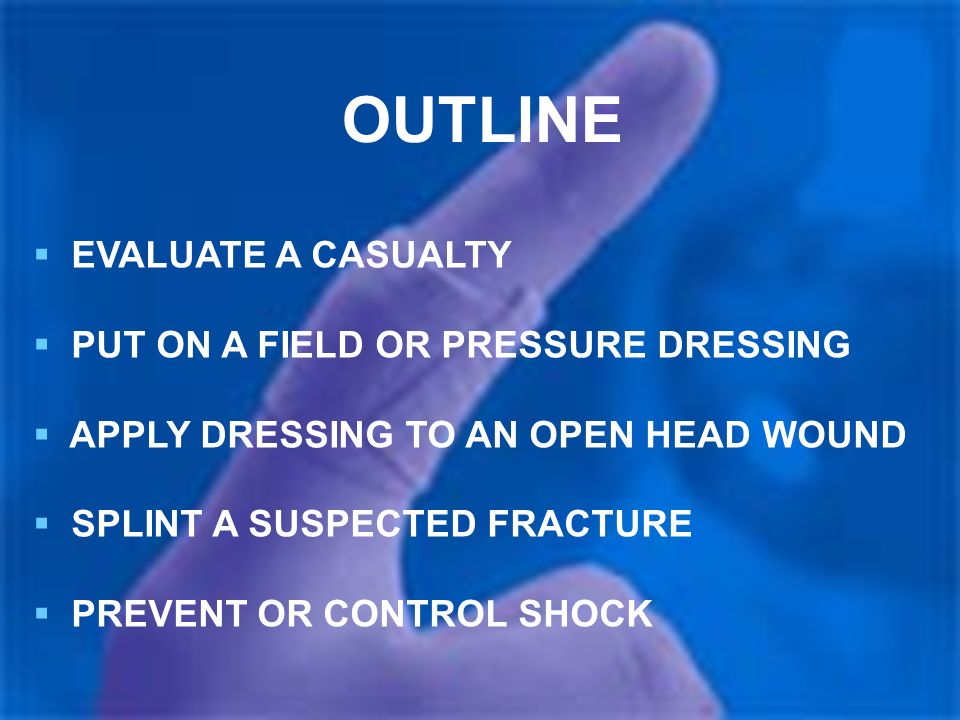 evaluate a casualty Task: evaluate and treat a casualty conditions: given a combat lifesaver aid bag and a casualty with one or more of the following problems: blocked airway.