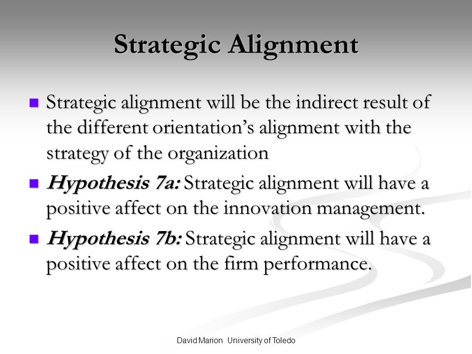 the effect of strategy on the
