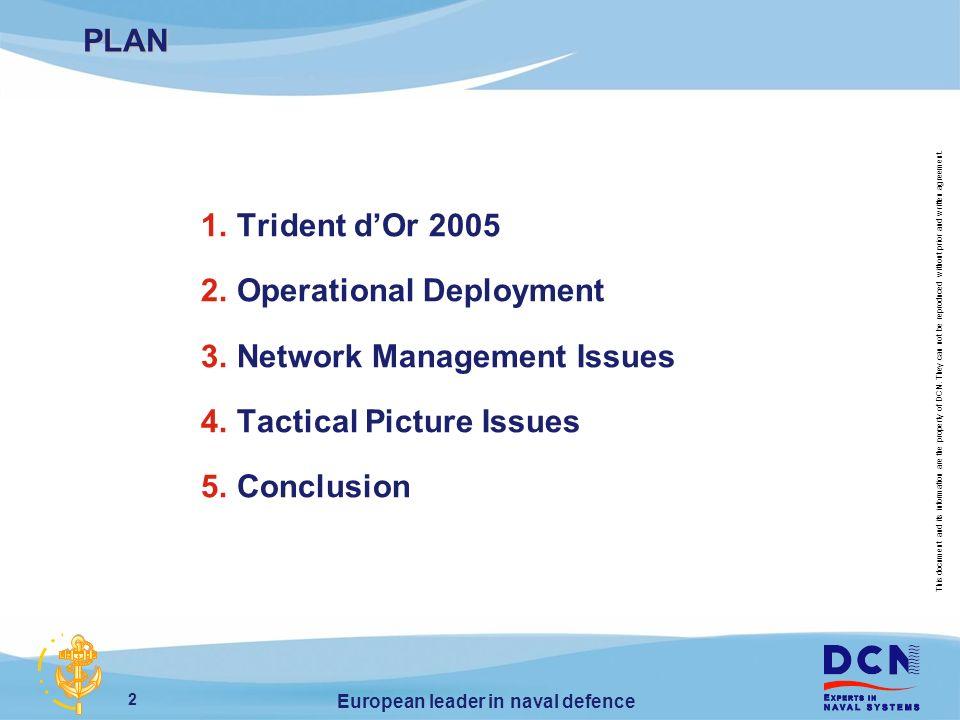 European leader in naval defence trident dor 2005 operational 2 2 platinumwayz