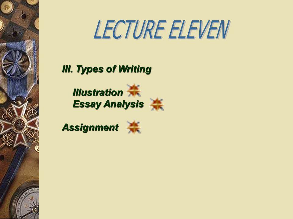 Writing illustration essays