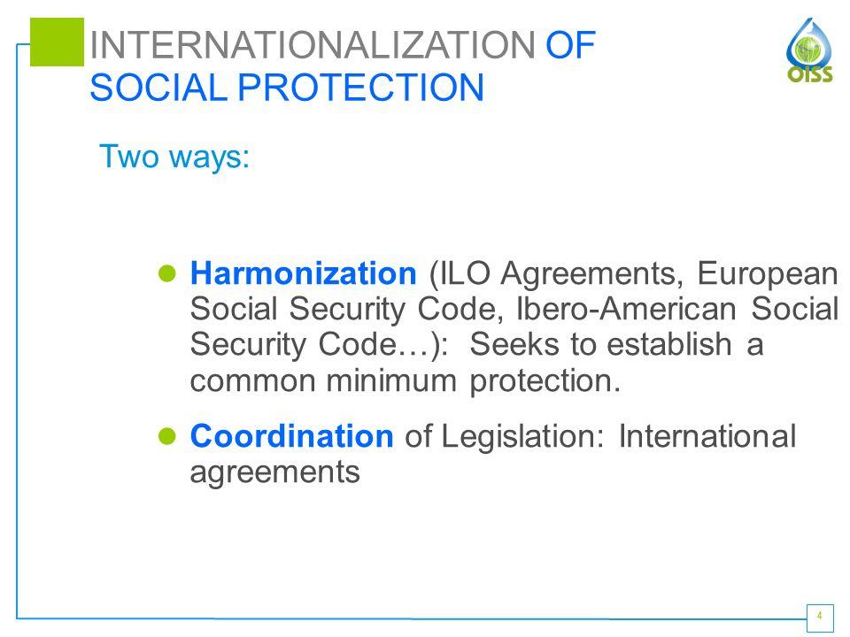 1 ibero american multilateral agreement on social security francisco 4 harmonization ilo agreements european social security code ibero american social security platinumwayz