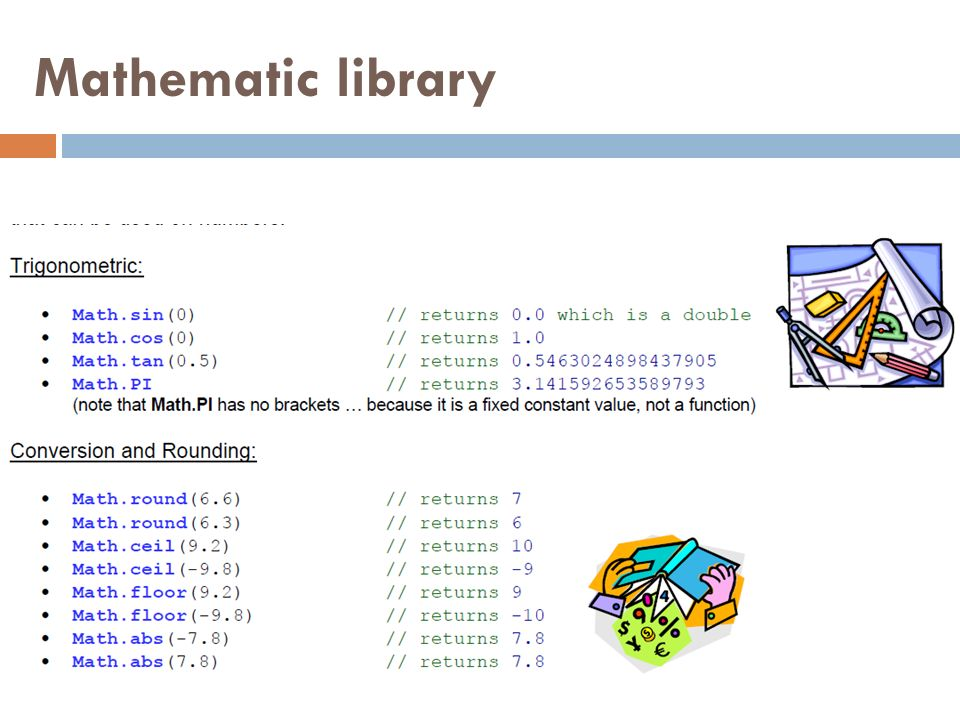 Mathematic library