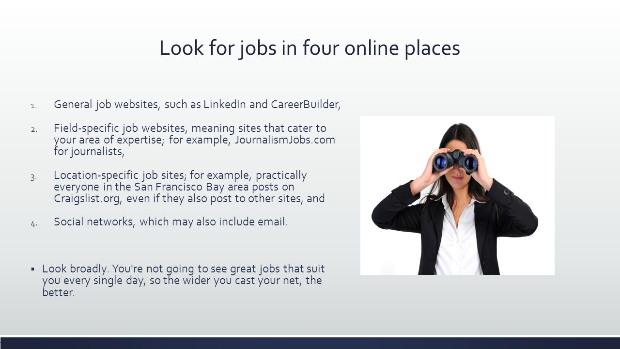 places to look for jobs