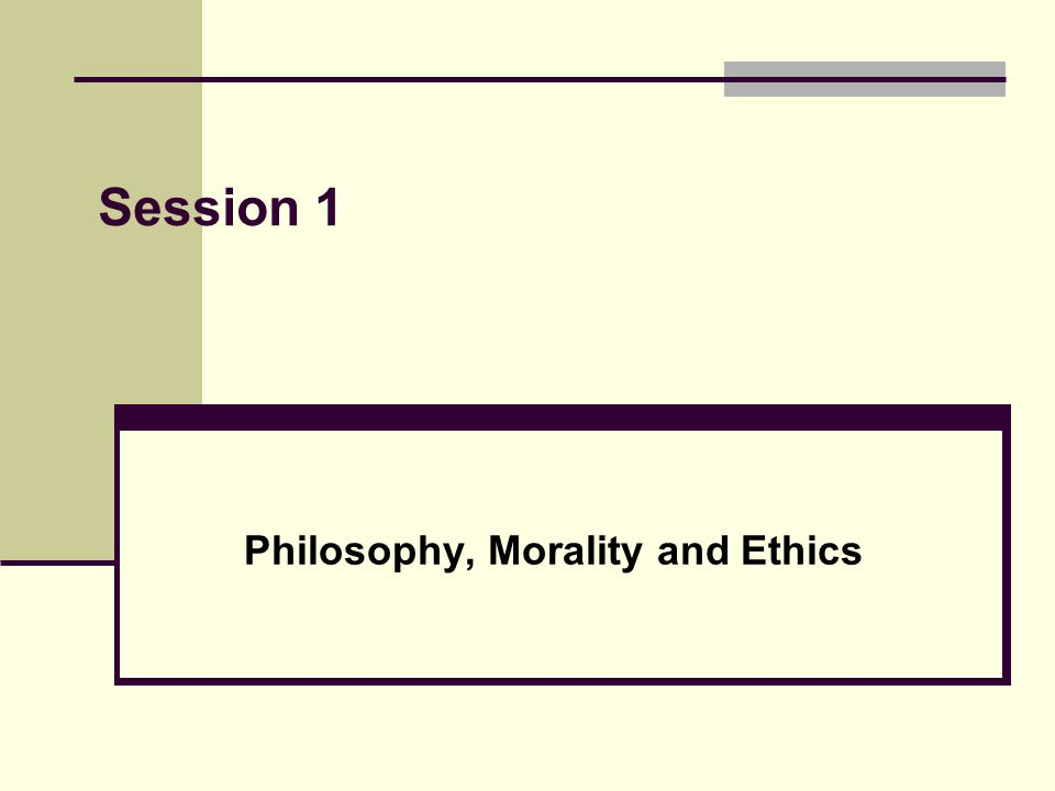 What does the term moral implications in philosophy mean?