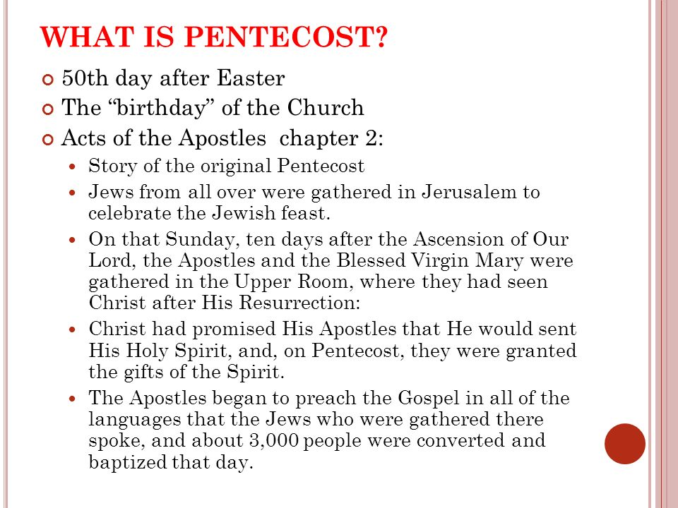 The feast of pentecost sunday may 19 in your notes may sure you 4 what negle Choice Image