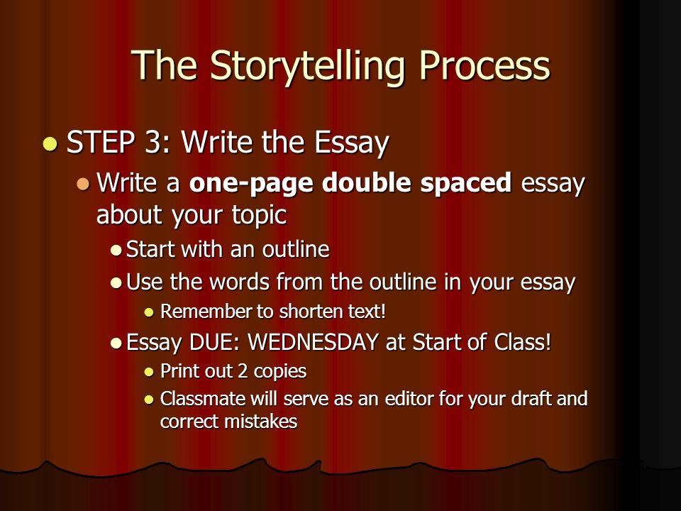 how to shorten an essay