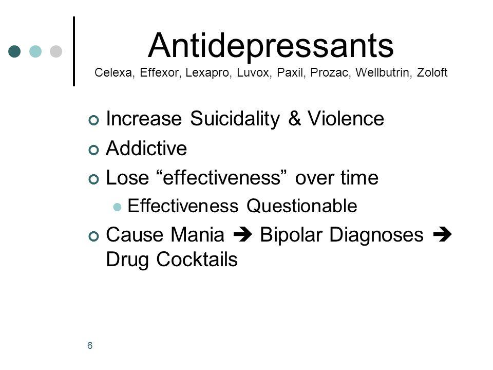 Prozac Zoloft Paxil Celexa