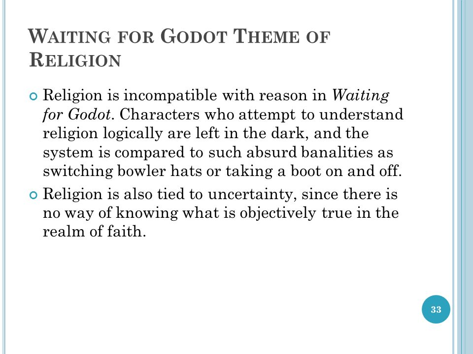 waiting for godot who is godot essay