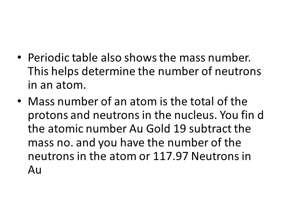 The atom chapter 42 atoms are the smallest unit of an element 11 periodic urtaz Images