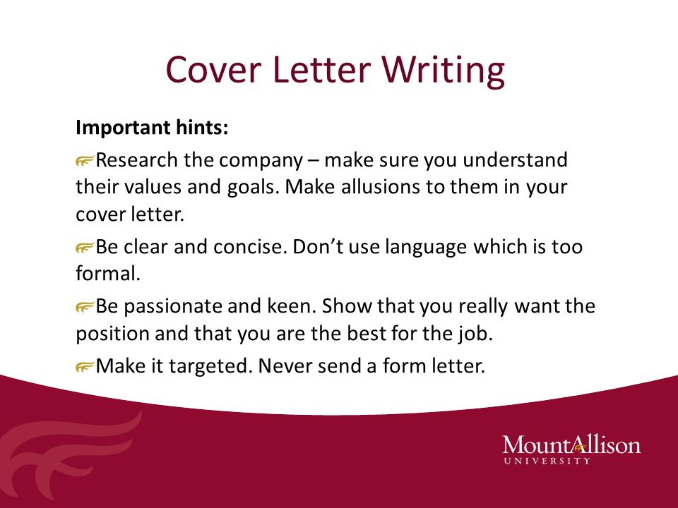 What is the importance of a cover letter and resume Term paper ...