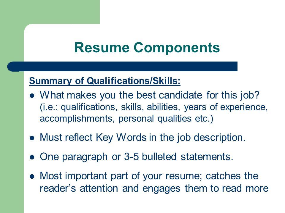 Rockin' Resume Workshop Employment Resource Center W207 Lake