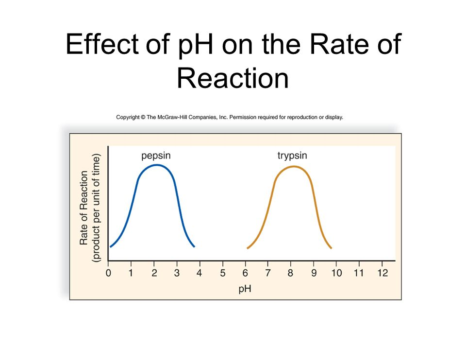 Effect of pH on the Rate of Reaction