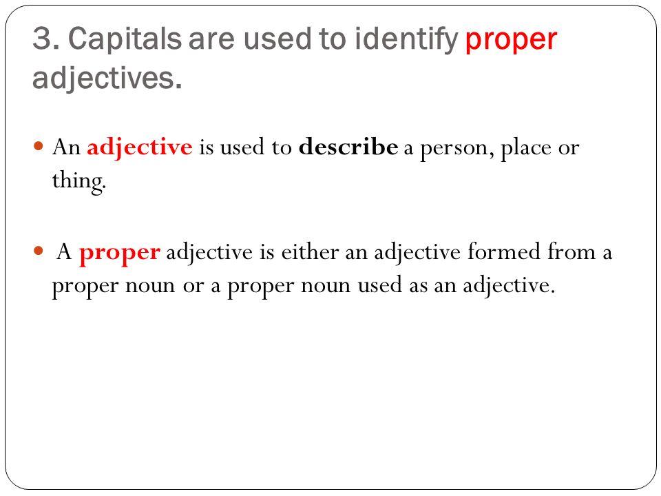 Mrs. Mac: Is it Proper to Capitalize a Proper Noun?