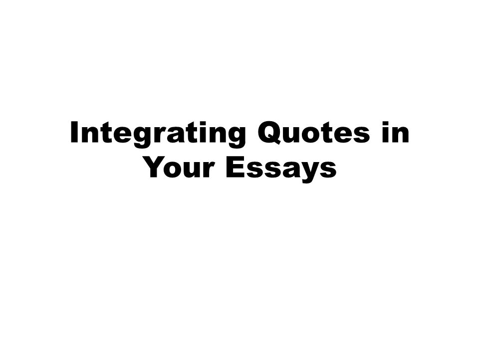 Quote introduction phrases