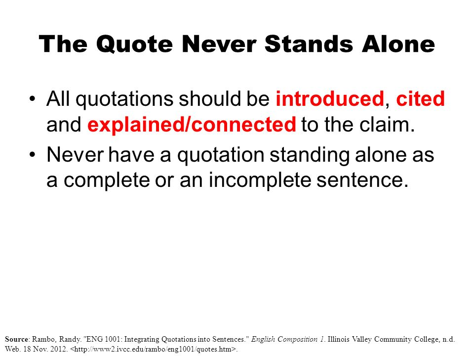 introducing quotations in essays