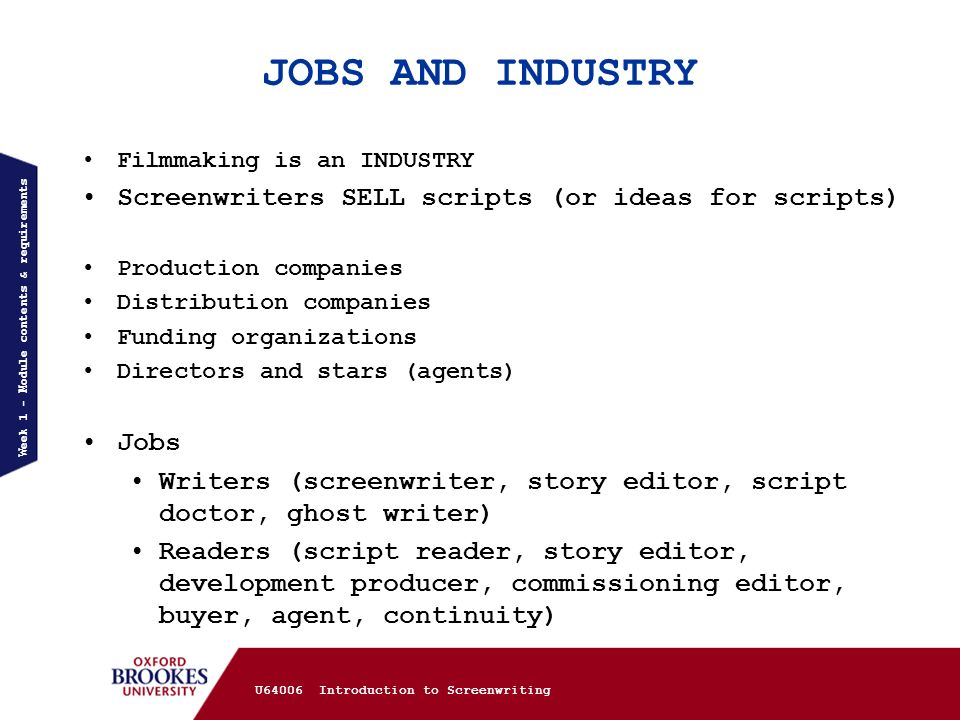 How do you set up a screenplay - for Media A level coursework.?