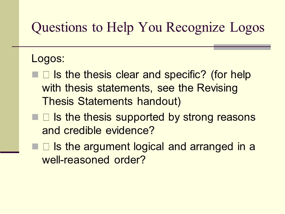 help with thesis statements Thesis Statement Generator