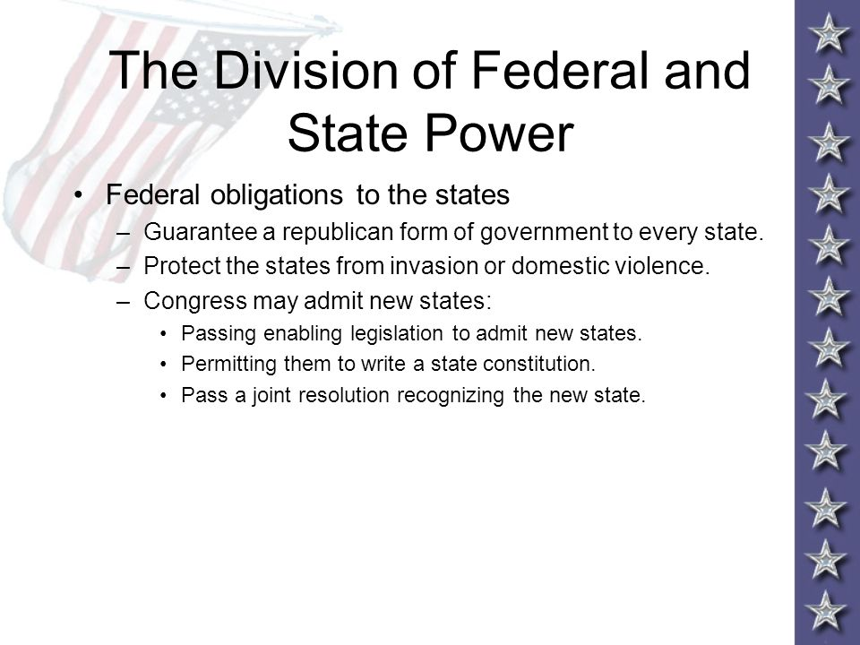 Democracy Under Pressure Chapter 3 The Federal System. - ppt download