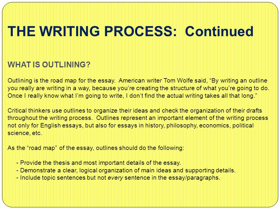 the writing process Writers, readers, purpose, and standard practices: understanding the writing process writers communicate with readers they explore ideas regarding a subject and share those ideas with an audience.