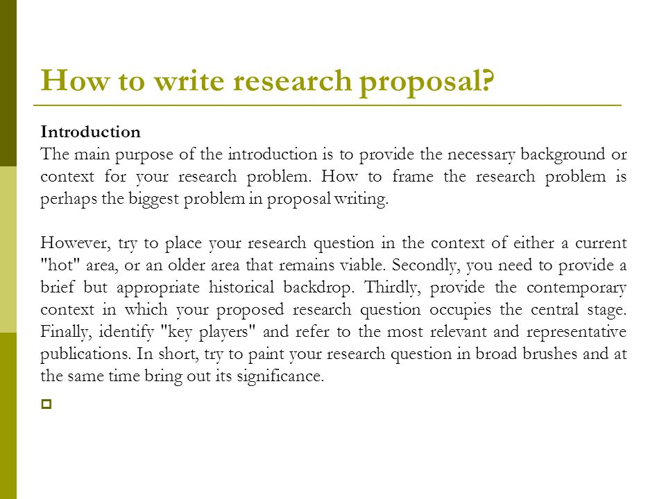 research proposal papers Obtain a research proposal sample to check your writing with it how to make your paper valuable - proceeding to discussion the best proposal for research paper.