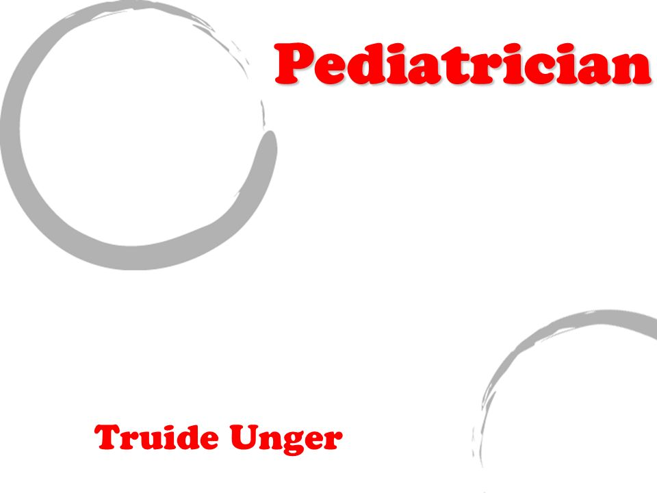 Truide Unger Pediatrician. Job Responsibilities/ Description There ...