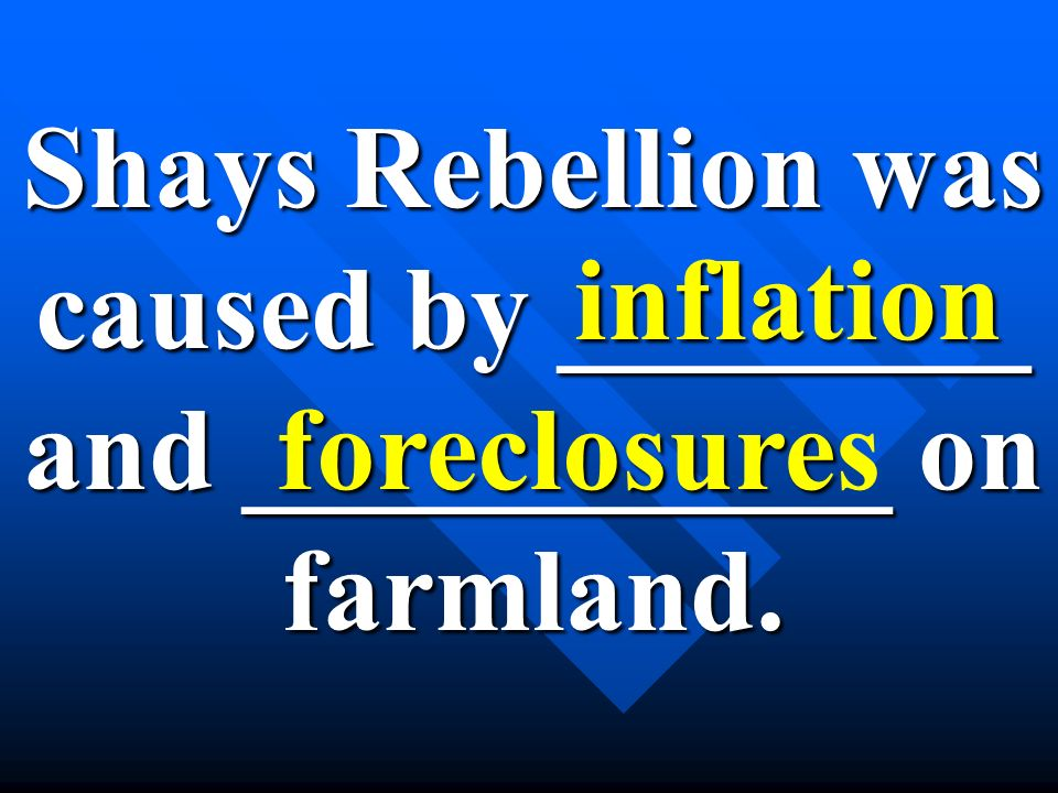 Shays Rebellion was caused by ________ and ___________ on farmland.