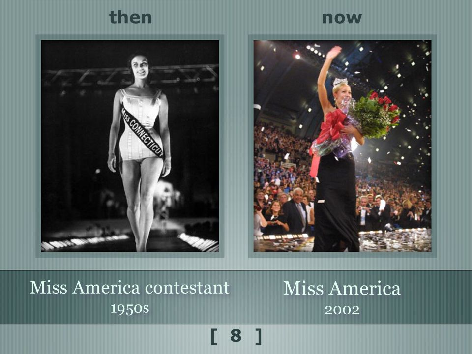 nowthen [ 8 ] Miss America contestant 1950s Miss America contestant 1950s Miss America 2002 Miss America 2002