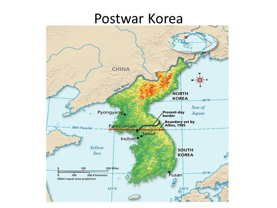 American history chapter 25 4 the korean war korea after wwii korea 3 postwar korea gumiabroncs Gallery