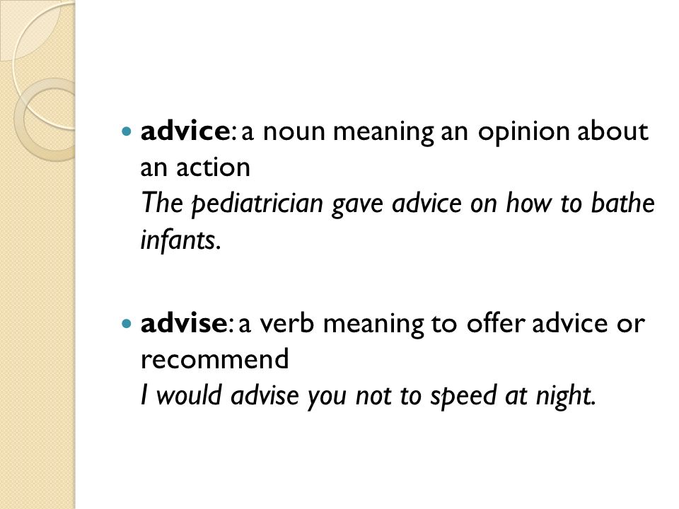 Printables Advice Meaning advise and advice meaning scalien precommunity printables worksheets