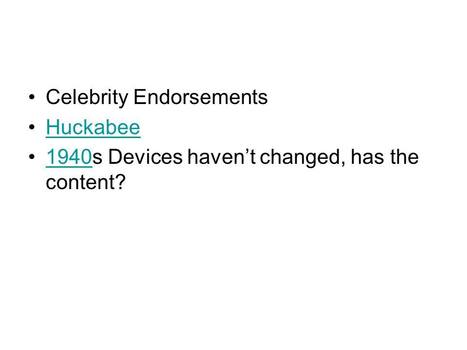 7 Celebrity Endorsements ...