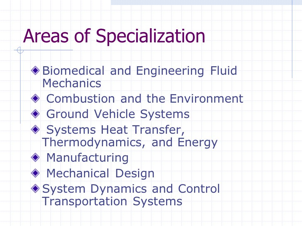 Description Mechanical engineering is a field of engineering that uses physics to design, analyze, and manufacture mechanical devices.