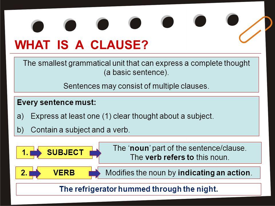 Multiple sentences