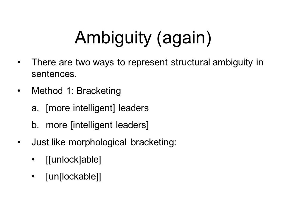 Syntax november 14 welcome back now give me your phonology 20 ambiguity ccuart Image collections
