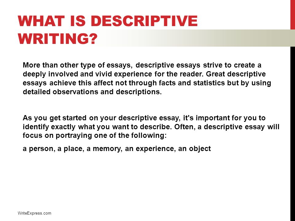 descriptive writing english luis cordova what is descriptive  what is descriptive writing