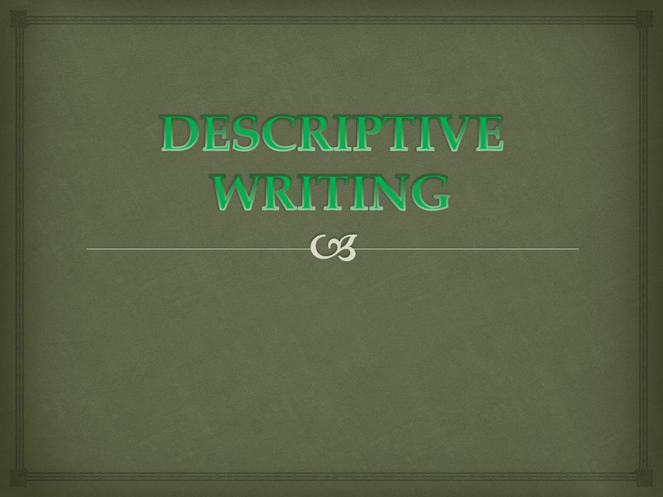 to write a descriptive essay you ll need to describe a person 2 iuml130150 iuml130153 to write a descriptive essay you ll need to describe a person object or event so vividly that the reader feels like he she could reach out and