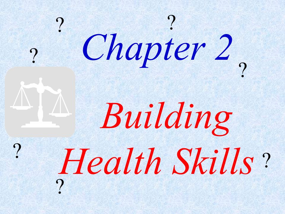 Lesson 1: Building Health Skills Lesson 2: Making Responsible Decisions and Setting Goals Lesson 3: Building Character