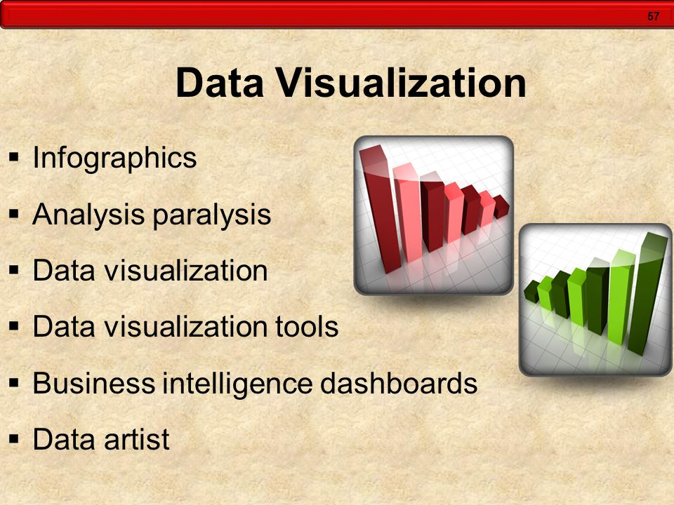 57 Data Visualization  Infographics  Analysis paralysis  Data visualization  Data visualization tools  Business intelligence dashboards  Data ar