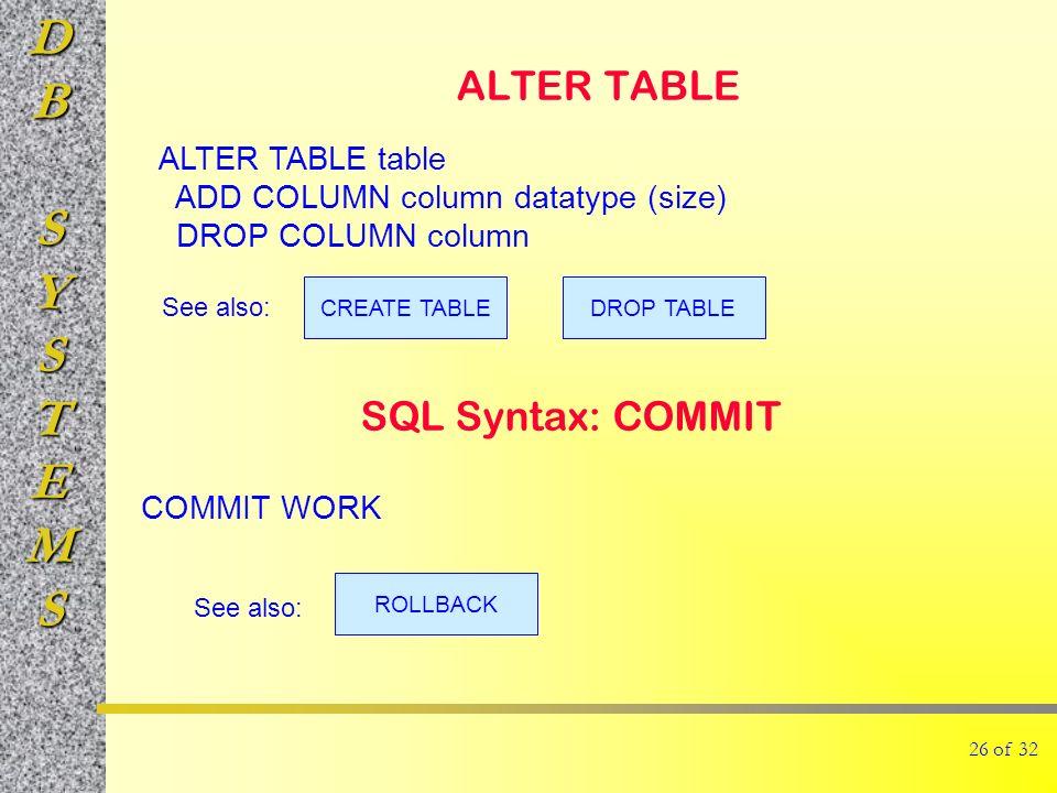 alter size of column in sql