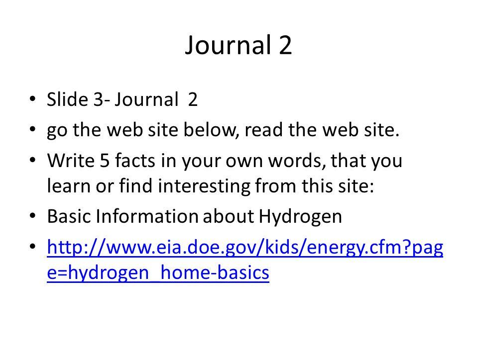 3 Journal ...