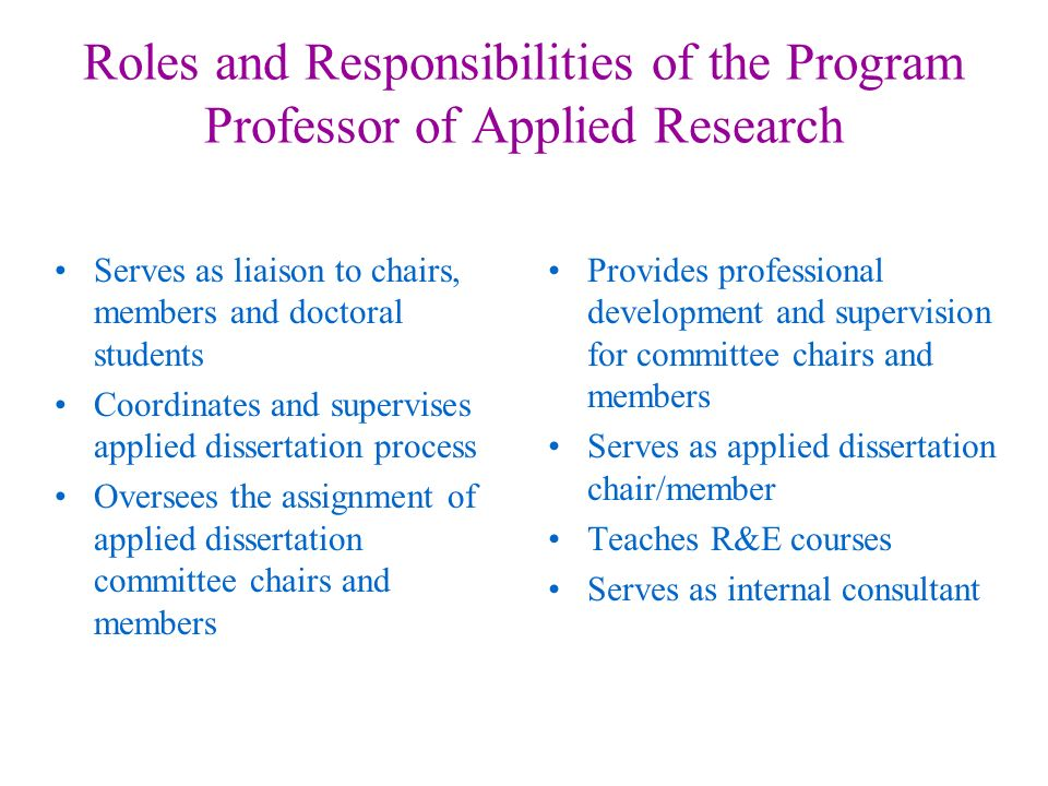 role dissertation committee members Checklist for dissertation chairs ask the student to postpone the defense unless you are certain all committee members have critiqued earlier drafts and.