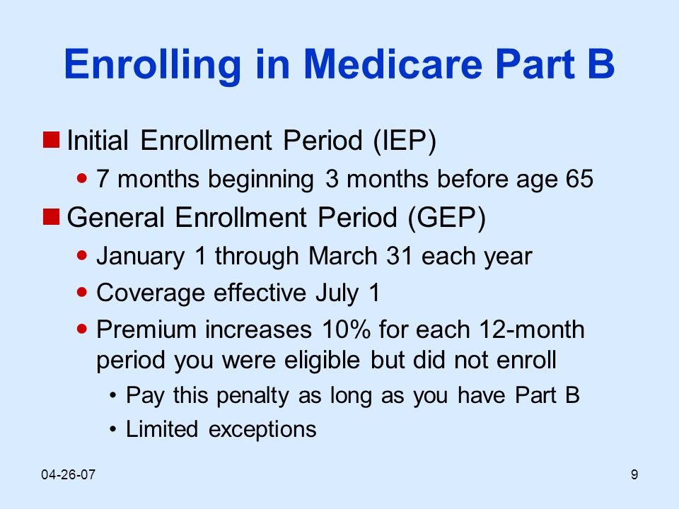 Understanding medicare module lessons 1dicare basics part a 9 ccuart Image collections