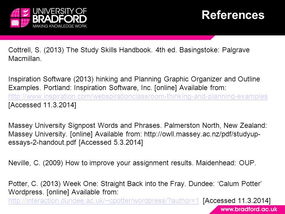 planning your essay palgrave