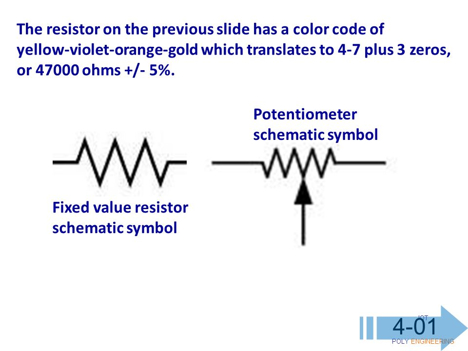 Fantastic Symbol For Potentiometer Images - Electrical and Wiring ...