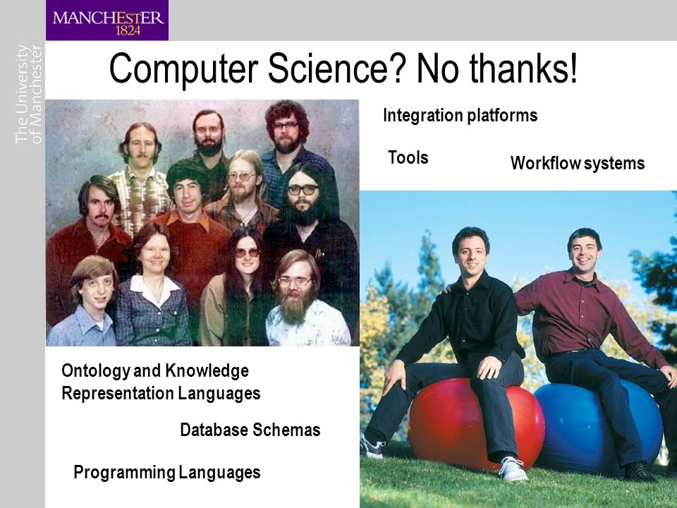 20 Computer Science. No thanks.