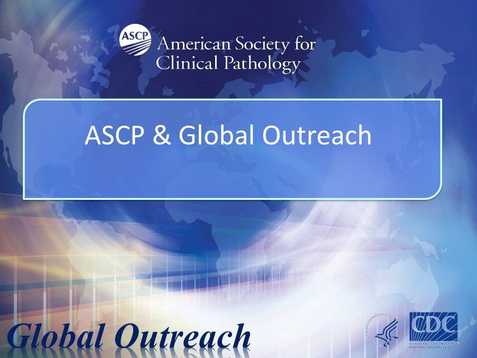 ASCP & Global Outreach